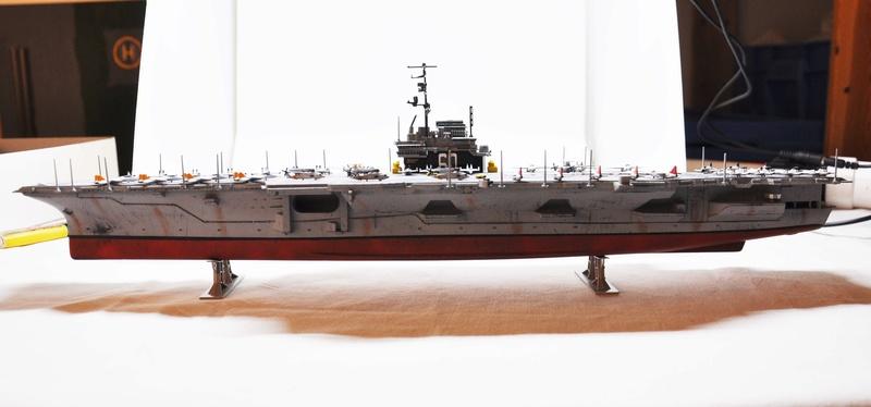 Diorama USS Saratoga - Italeri 1/720 Dsc_0145