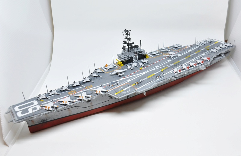 Diorama USS Saratoga - Italeri 1/720 Dsc_0149