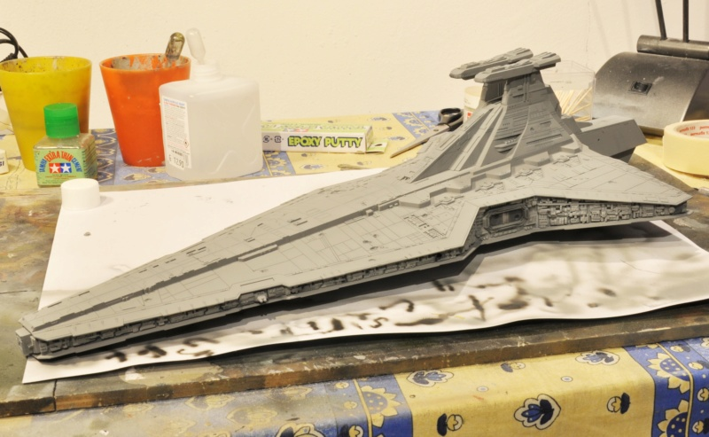 Destroyer Classe Venator - Star Wars - Revell 1/2274 Dsc_0286