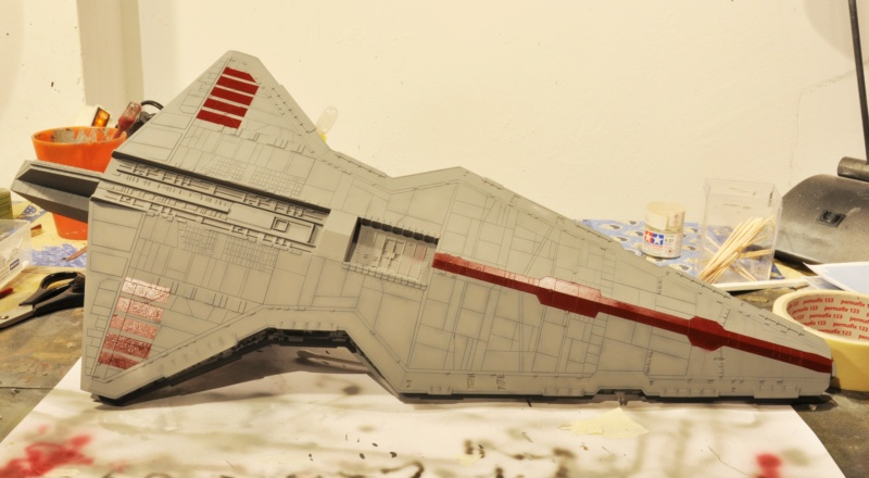 Destroyer Classe Venator - Star Wars - Revell 1/2274 Dsc_0289