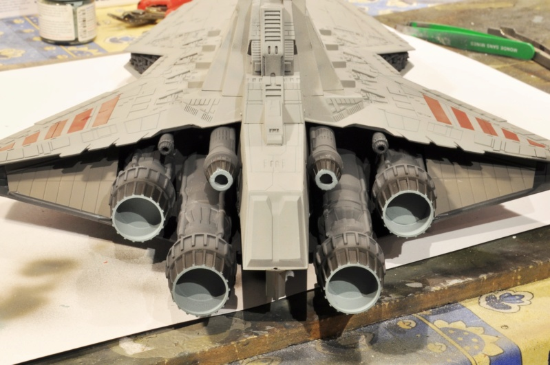 Destroyer Classe Venator - Star Wars - Revell 1/2274 Dsc_0290