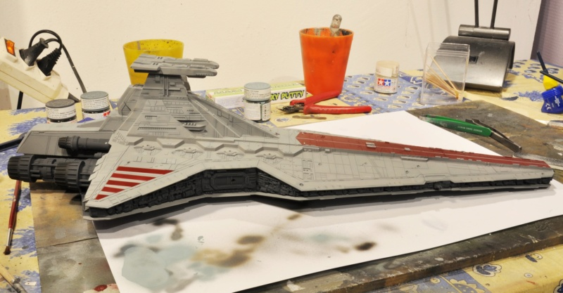 Destroyer Classe Venator - Star Wars - Revell 1/2274 Dsc_0291