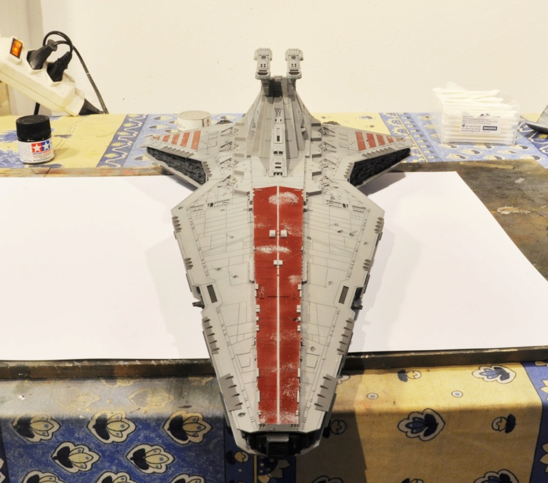 Destroyer Classe Venator - Star Wars - Revell 1/2274 Dsc_0292