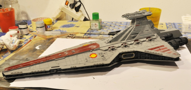 Destroyer Classe Venator - Star Wars - Revell 1/2274 Dsc_0300