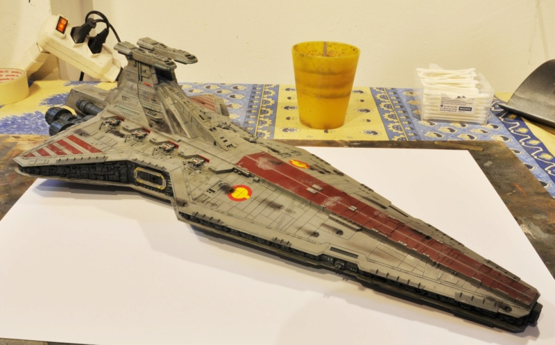 Destroyer Classe Venator - Star Wars - Revell 1/2274 Dsc_0303