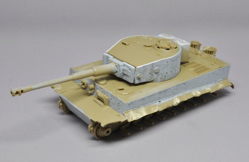 Tiger 1 de Michael Wittmann à Villers Bocage - 1944 - diorama tamiya 1/35 Dsc_0713