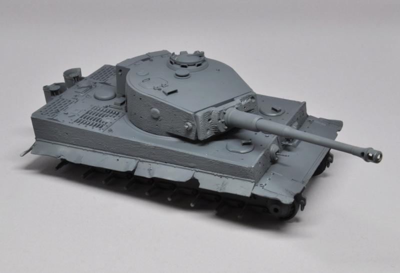 Tiger 1 de Michael Wittmann à Villers Bocage - 1944 - diorama tamiya 1/35 Dsc_0716