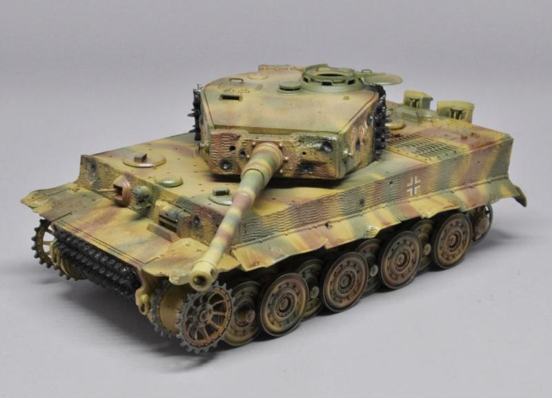 Tiger 1 de Michael Wittmann à Villers Bocage - 1944 - diorama tamiya 1/35 Dsc_0730