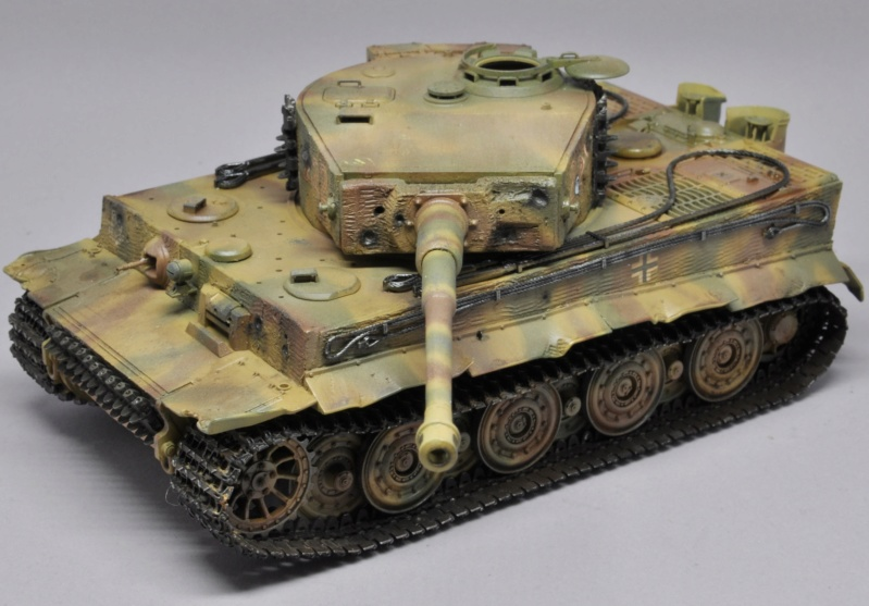 Tiger 1 de Michael Wittmann à Villers Bocage - 1944 - diorama tamiya 1/35 Dsc_0736