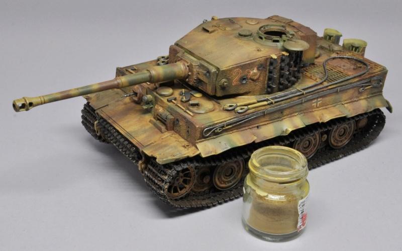 Tiger 1 de Michael Wittmann à Villers Bocage - 1944 - diorama tamiya 1/35 Dsc_0809