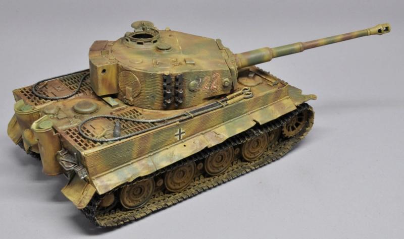 Tiger 1 de Michael Wittmann à Villers Bocage - 1944 - diorama tamiya 1/35 Dsc_0810
