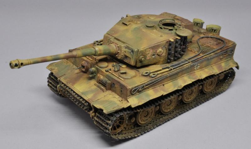 Tiger 1 de Michael Wittmann à Villers Bocage - 1944 - diorama tamiya 1/35 Dsc_0811
