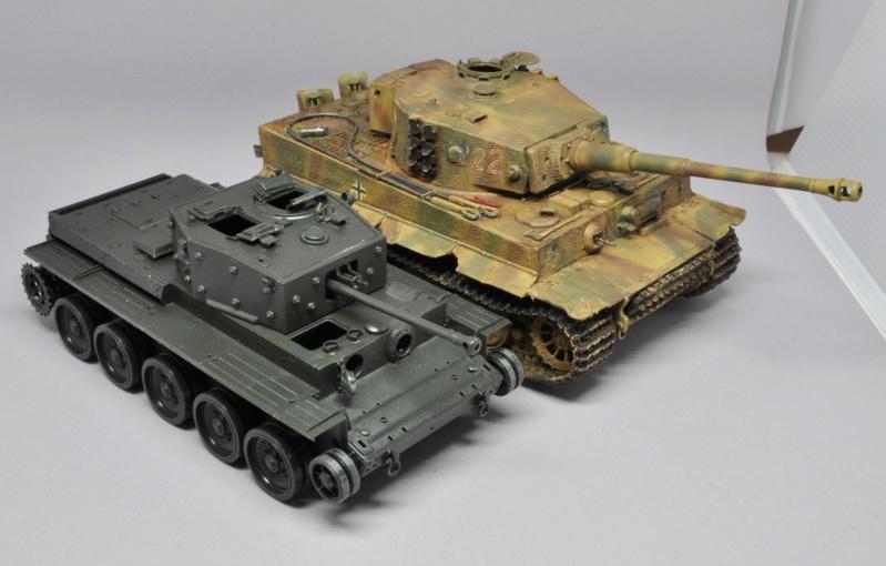 Tiger 1 de Michael Wittmann à Villers Bocage - 1944 - diorama tamiya 1/35 Dsc_0814