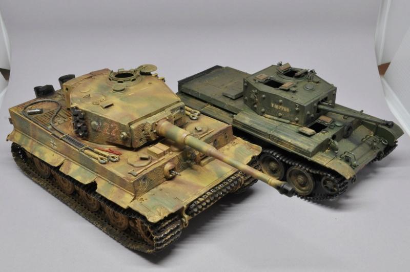Tiger 1 de Michael Wittmann à Villers Bocage - 1944 - diorama tamiya 1/35 Dsc_0827