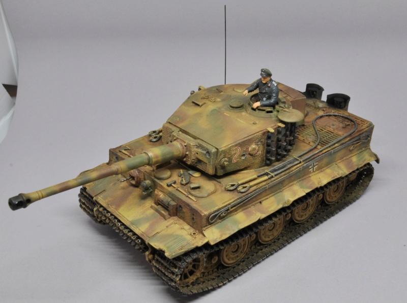 Tiger 1 de Michael Wittmann à Villers Bocage - 1944 - diorama tamiya 1/35 Dsc_0829
