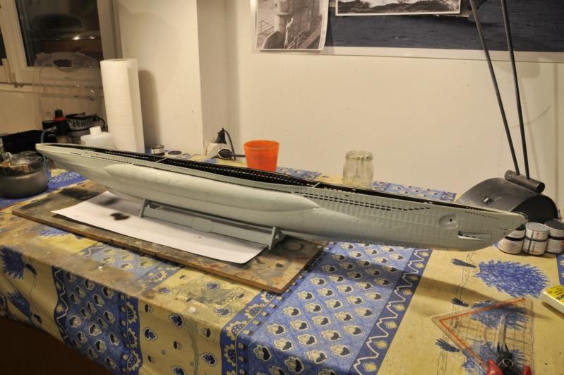 Diorama du U-588 en cale sèche au 1/72 Dsc_0921