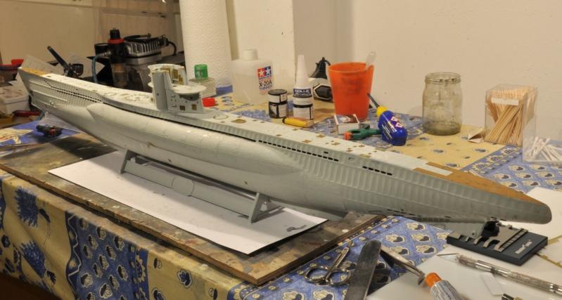 Diorama du U-588 en cale sèche au 1/72 - Page 2 Dsc_0928