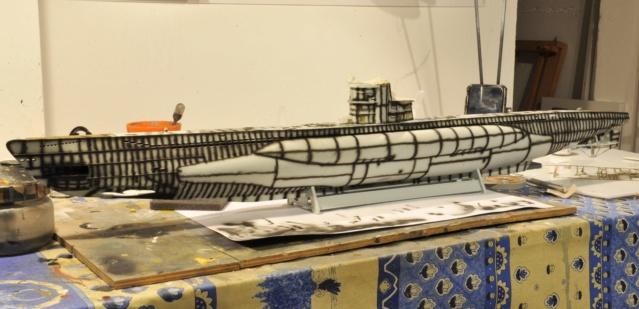 Diorama du U-588 en cale sèche au 1/72 - Page 3 Dsc_0943