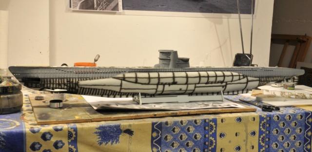 Diorama du U-588 en cale sèche au 1/72 - Page 3 Dsc_0945