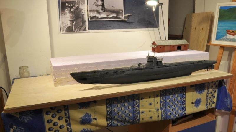 Diorama du U-588 en cale sèche au 1/72 - Page 2 Dsc_0984