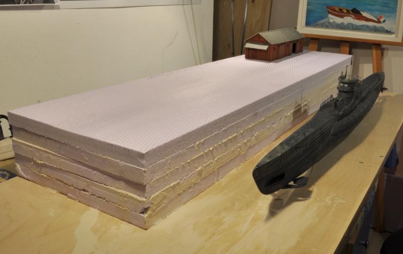 Diorama du U-588 en cale sèche au 1/72 - Page 2 Dsc_0985