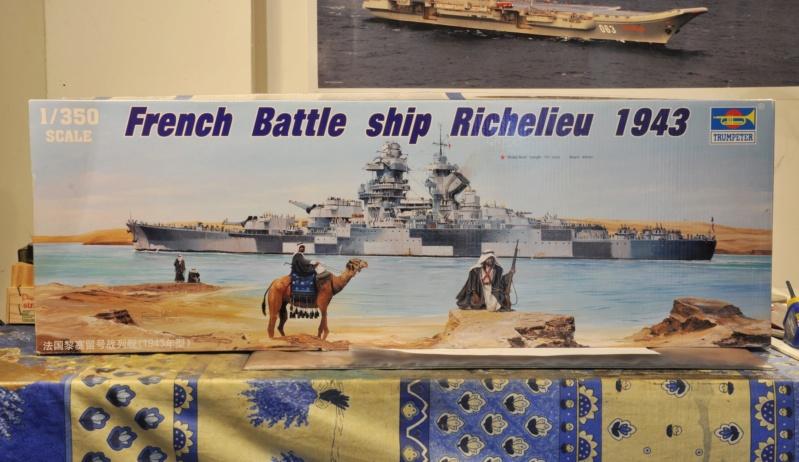 Cuirassé Richelieu - Trumpeter - 1/350 Dsc_1092