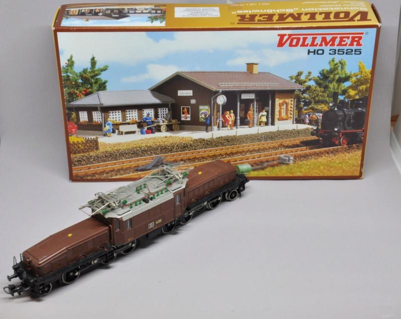 Diorama hivernale - locomotive Crocodile - 1/87 (HO) Dsc_1108