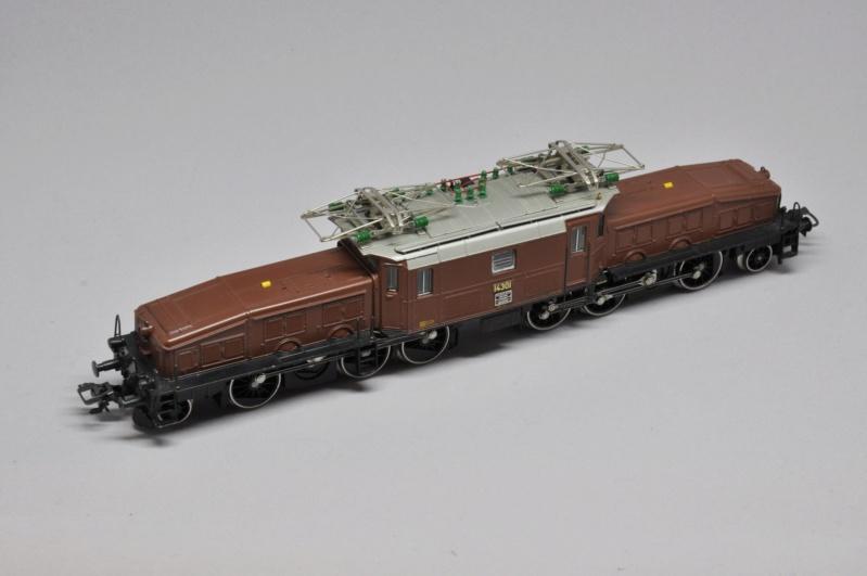 Diorama hivernale - locomotive Crocodile - 1/87 (HO) Dsc_1112