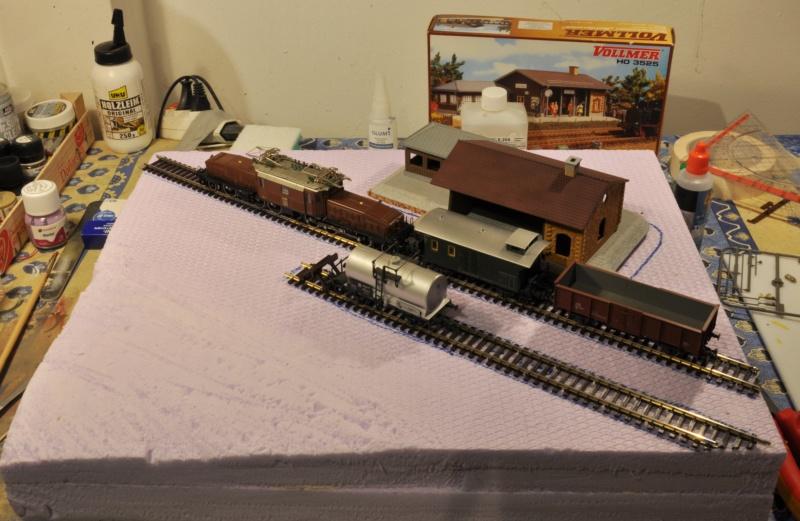 Diorama hivernale - locomotive Crocodile - 1/87 (HO) Dsc_1118
