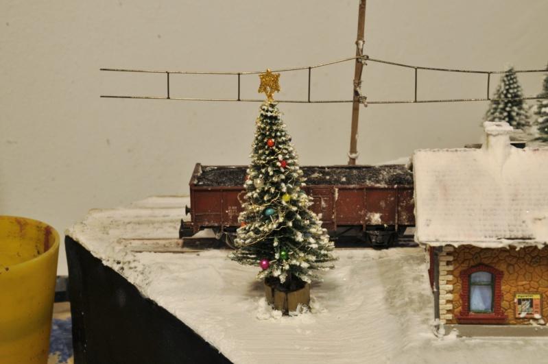 Diorama hivernale - locomotive Crocodile - 1/87 (HO) Dsc_1195