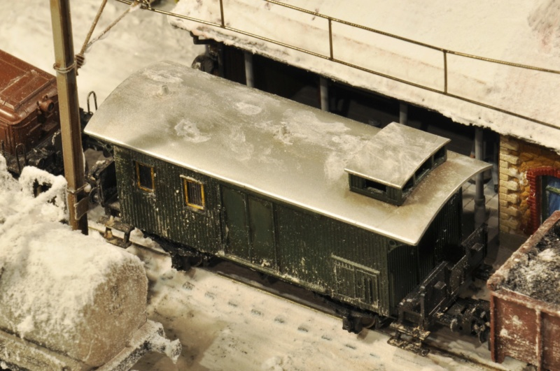 Diorama hivernale - locomotive Crocodile - 1/87 (HO) Dsc_1208