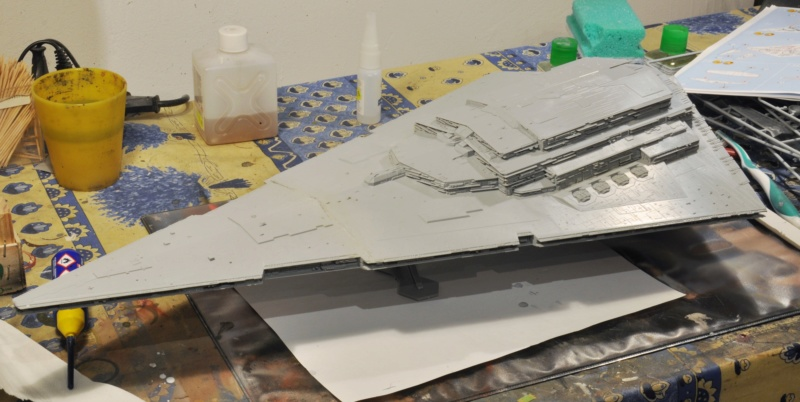 Imperial Star Destroyer - Star Wars - Revell - 1/2700 Dsc_1215