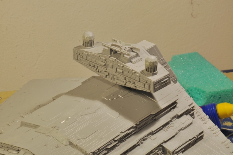 Imperial Star Destroyer - Star Wars - Revell - 1/2700 Dsc_1216