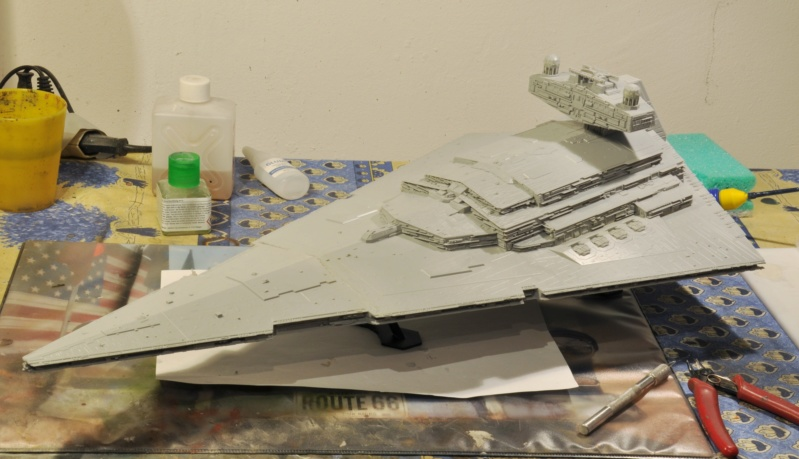 Imperial Star Destroyer - Star Wars - Revell - 1/2700 Dsc_1217
