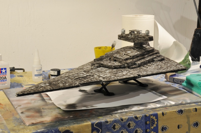 Imperial Star Destroyer - Star Wars - Revell - 1/2700 Dsc_1222