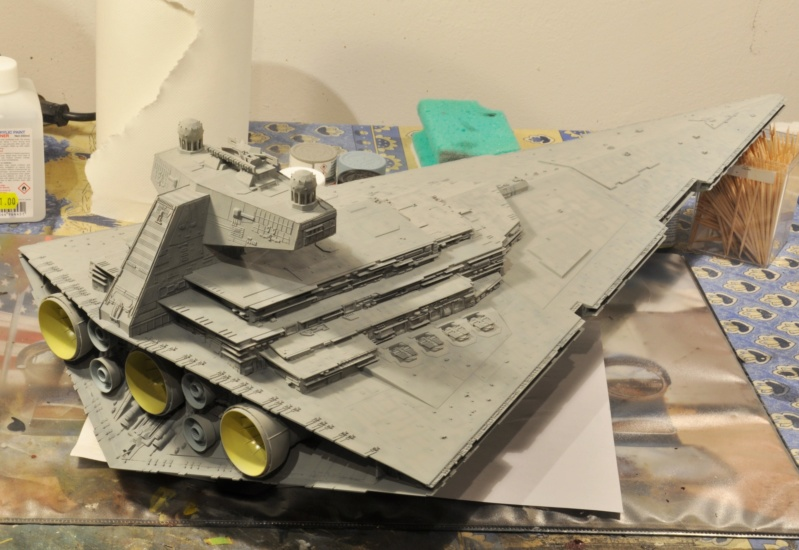 Imperial Star Destroyer - Star Wars - Revell - 1/2700 Dsc_1224