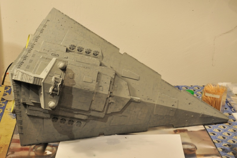Imperial Star Destroyer - Star Wars - Revell - 1/2700 Dsc_1225