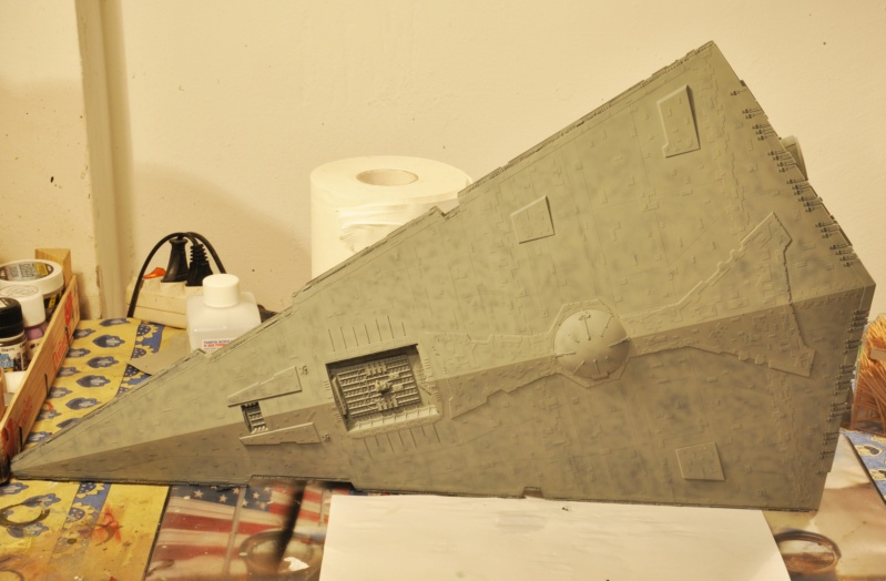 Imperial Star Destroyer - Star Wars - Revell - 1/2700 Dsc_1226