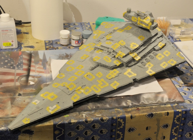 Imperial Star Destroyer - Star Wars - Revell - 1/2700 Dsc_1228