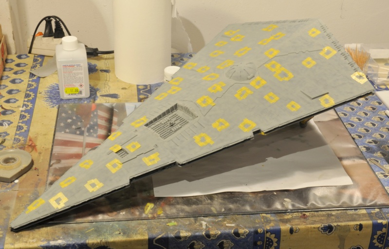 Imperial Star Destroyer - Star Wars - Revell - 1/2700 Dsc_1229