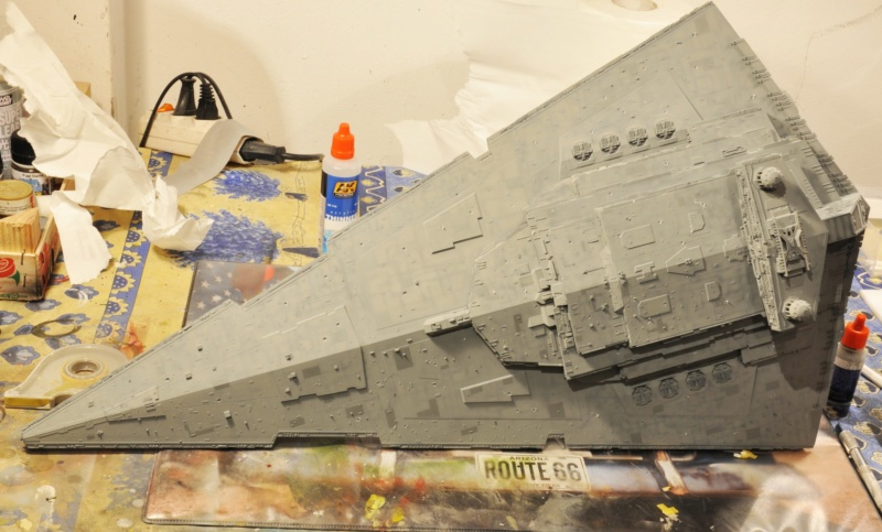 Imperial Star Destroyer - Star Wars - Revell - 1/2700 Dsc_1230