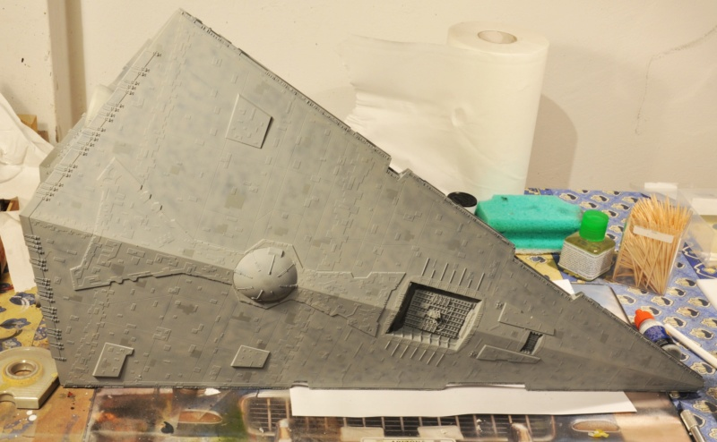 Imperial Star Destroyer - Star Wars - Revell - 1/2700 Dsc_1231