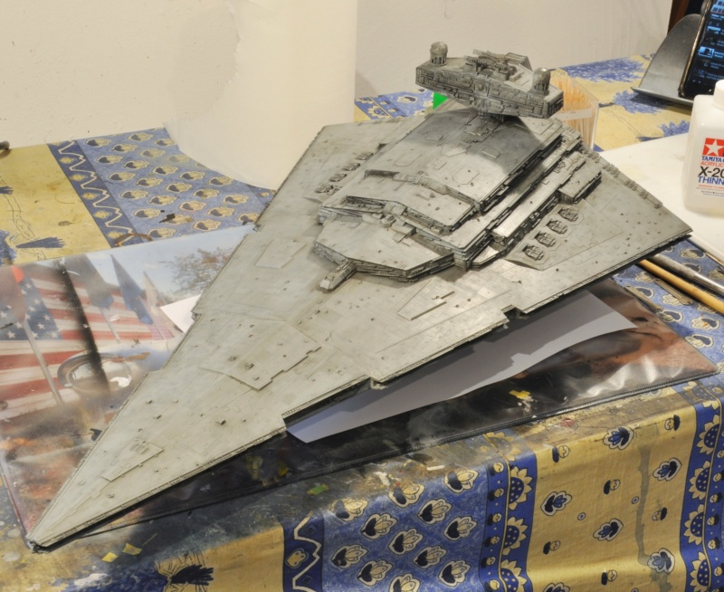 Imperial Star Destroyer - Star Wars - Revell - 1/2700 Dsc_1232