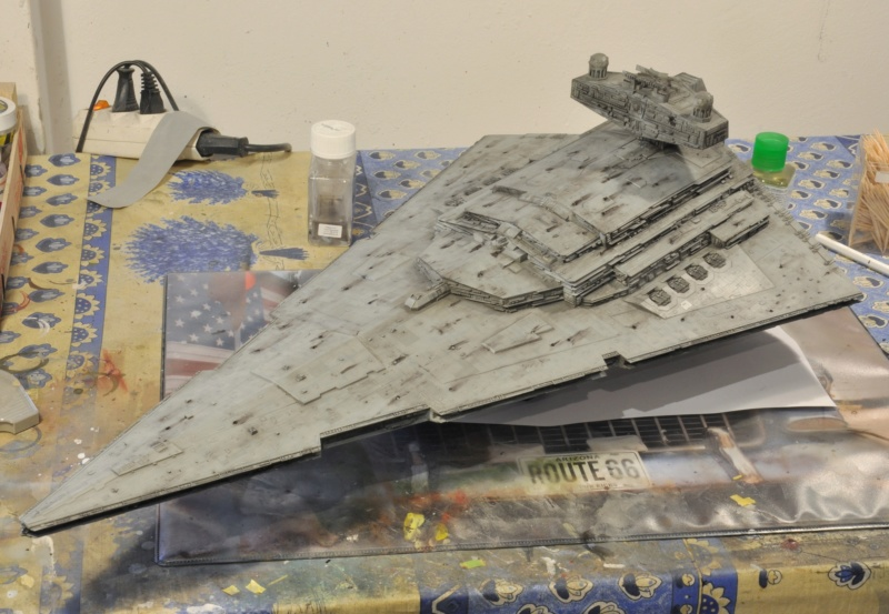 Imperial Star Destroyer - Star Wars - Revell - 1/2700 Dsc_1233