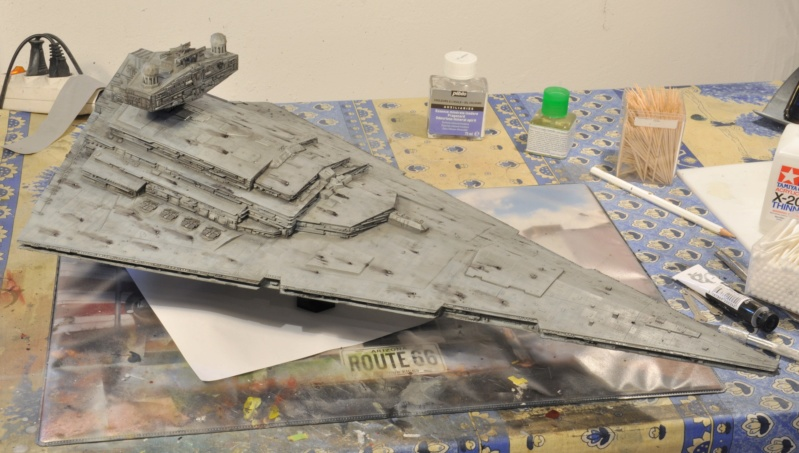 Imperial Star Destroyer - Star Wars - Revell - 1/2700 Dsc_1234