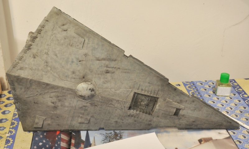 Imperial Star Destroyer - Star Wars - Revell - 1/2700 Dsc_1236
