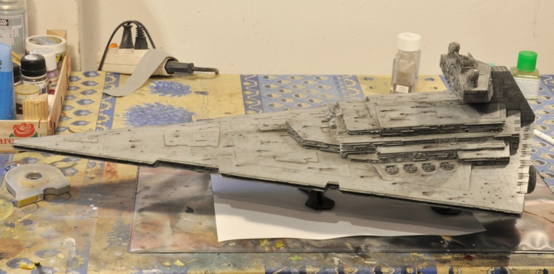 Imperial Star Destroyer - Star Wars - Revell - 1/2700 Dsc_1238