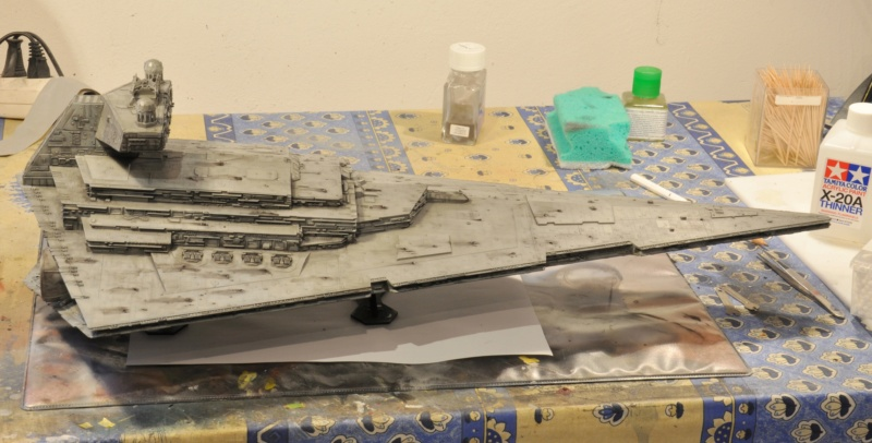 Imperial Star Destroyer - Star Wars - Revell - 1/2700 Dsc_1239