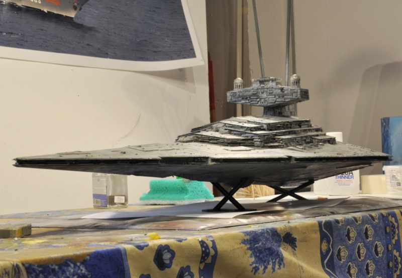 Imperial Star Destroyer - Star Wars - Revell - 1/2700 Dsc_1240