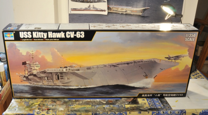 Supercarrier USS Kitty Hawk (CV-63) - Trumpeter - 1/350 Dsc_1447